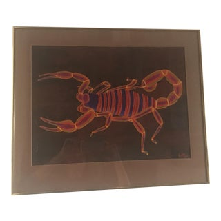 "Photograph of ""The Vibrant Scorpion"" Painting by Keffer"