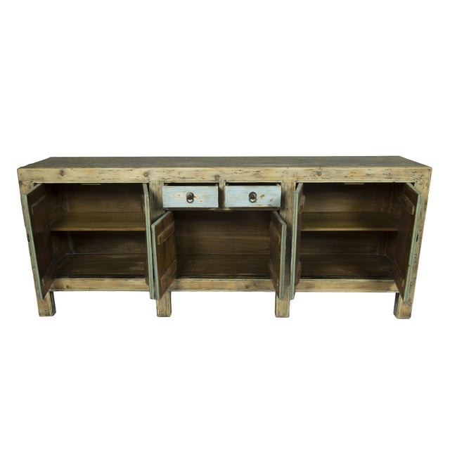Blue Distressed Sideboard - Image 2 of 3