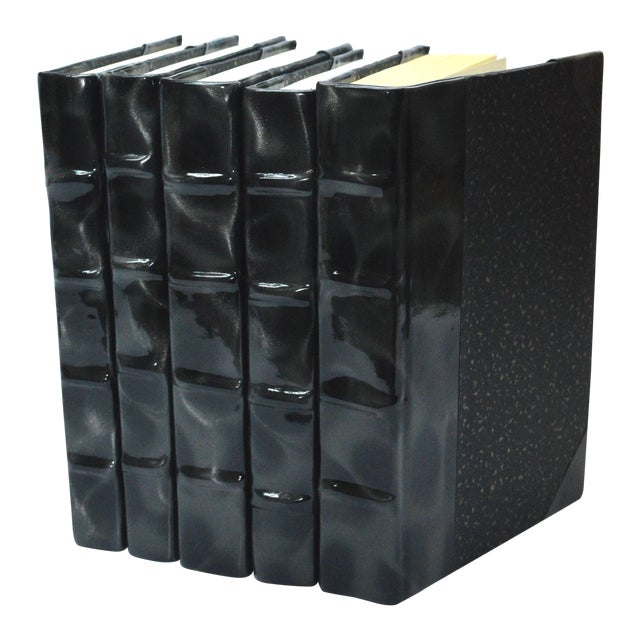 Image of Prismatic Patent Books - Black & Silver - Set Of 5