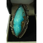 Image of Native American Style Turquoise Ring - Size 7