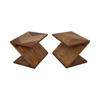 Lane Mid-Century Modern Z End Tables