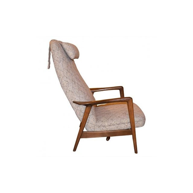 Folke Ohlsson Mid-Century Chair & Ottoman - Image 3 of 7