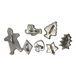 Assorted Vintage Cookie Cutters - Set of 7