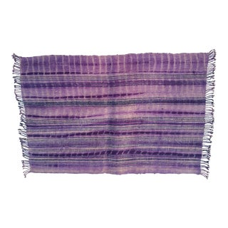 Purple Tie Dye Hemp Place Mats - Set of 6