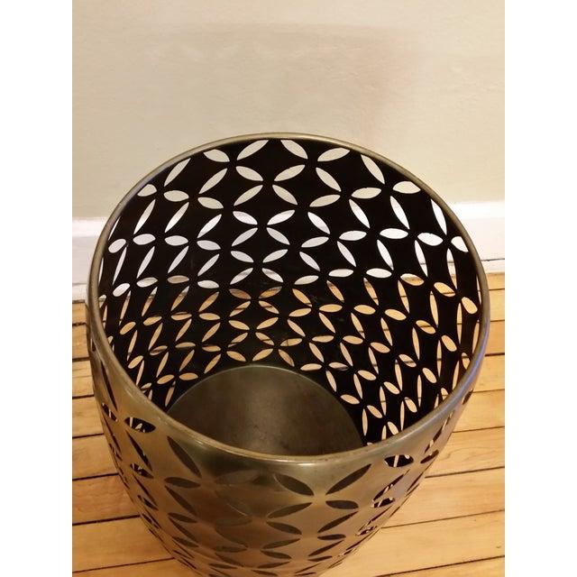 Image of Geometric Cut Garden Stool