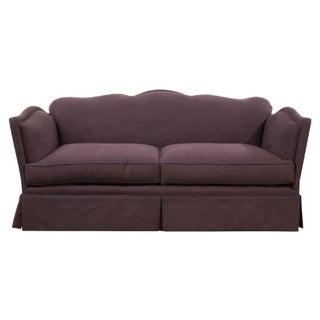 Aubergine Knole-Style Sofa