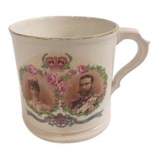 Vintage English King George V & Mary Royal Mug