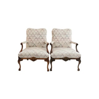 Martha Washington Chippendale Chairs - A Pair