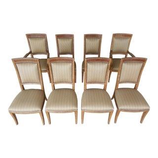 Ferguson Copeland Neoclassical Regency Style Chairs - Set of 8