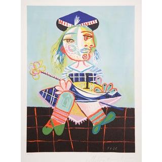 Pablo Picasso Lithograph - La Fille De L'Artiste