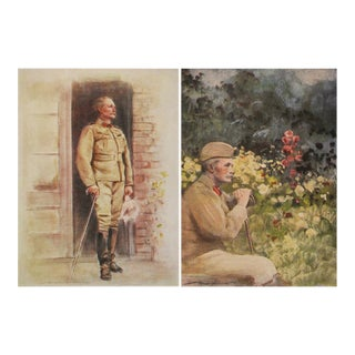 Portraits of Lieut.-General Pole-Carew by M. Menpes