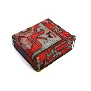 Antique Kilim Covered Box
