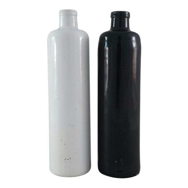 James Beam Stoneware Bottles - A Pair - Image 1 of 9