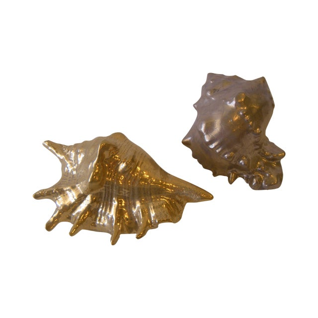 Image of Ron Dier Small Ceramic Shells - Set of 2