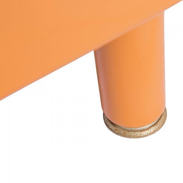 McDowell-Craig Vintage Tanker Orange Desk - Image 3 of 5