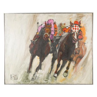Thoroughbred Racing -Oil Painting by Lee Reynolds