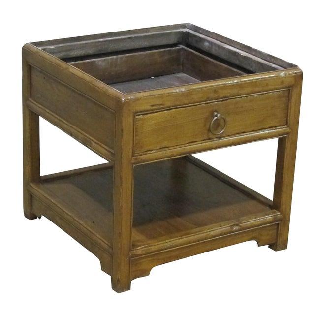 Image of Vintage Sarreid LTD Elm Side Table Base