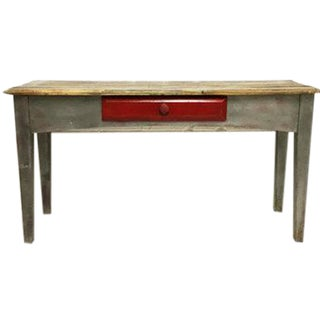 Vintage Mexican Pine Console