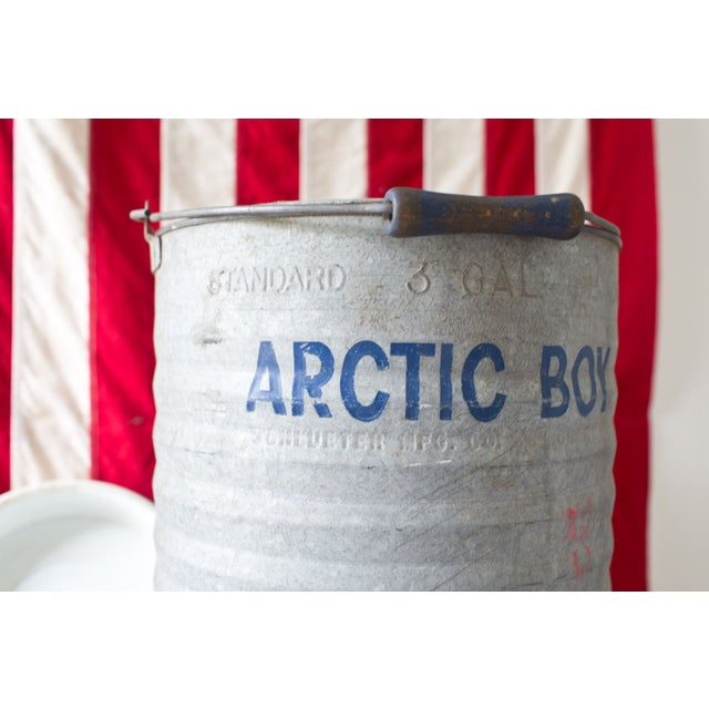 1960s Large 3 Gallon Arctic Boy Metal Water Cooler Chairish