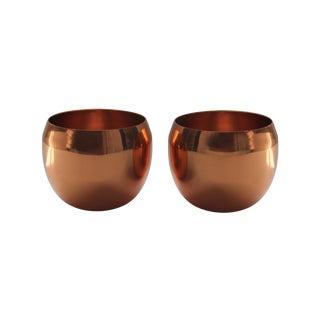 Coppercraft Copper Jefferson Cups - Pair