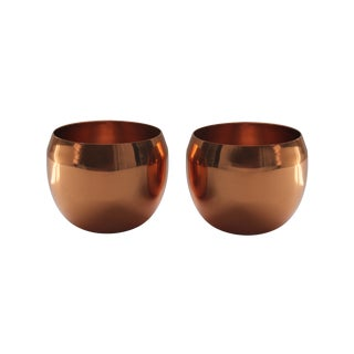 Coppercraft Copper Jefferson Cups - Pair