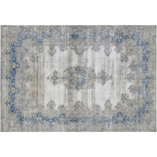 """Vintage Overdyed Persian Rug, 7'1"""" x 10'1"""""""