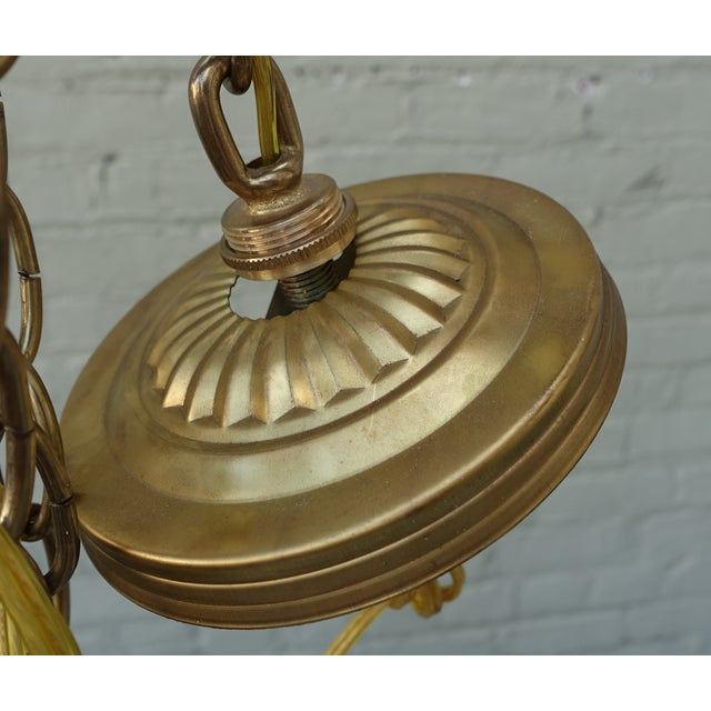 Alabaster Pendant Light Fixtures - 3 - Image 7 of 7