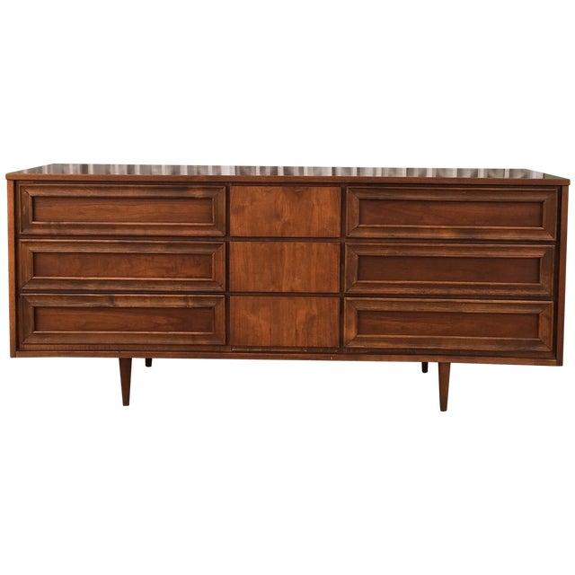 Image of Vintage Walnut Dresser