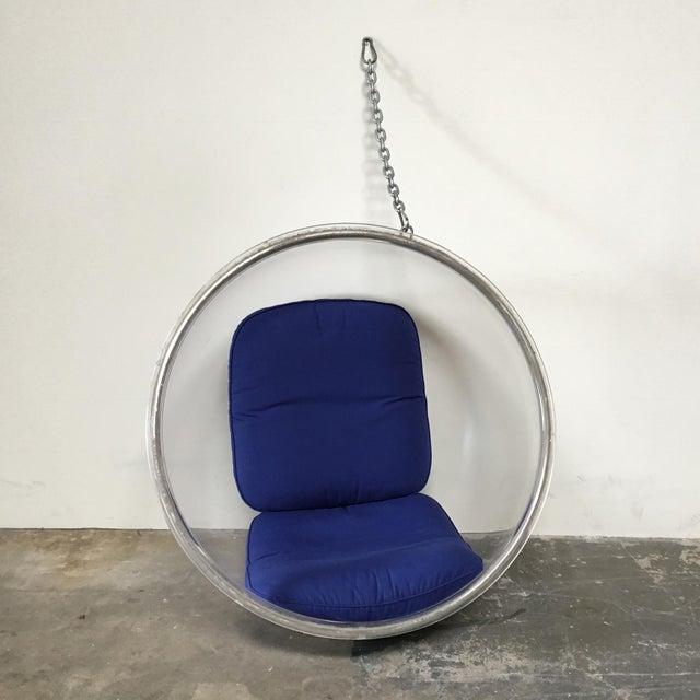 Image of Eero Aarnio Plushpod Hanging Bubble Chair