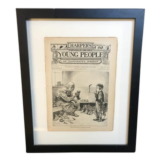 Harper's Young People Weekly Framed Publication Print, 1883