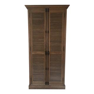 Restoration Hardware Wooden Armoire