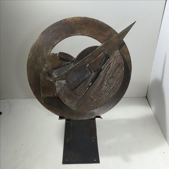 Brutalist Sculpture 1960 Iron - Image 11 of 11