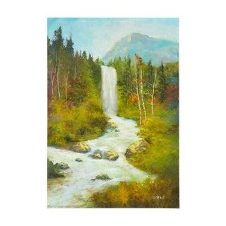 Sierra Mountains Waterfall