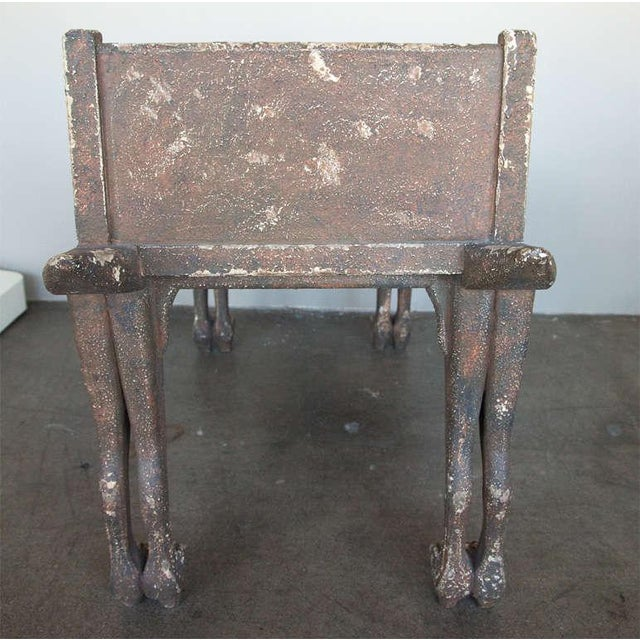 Egyptian Revival Bench - Image 7 of 9