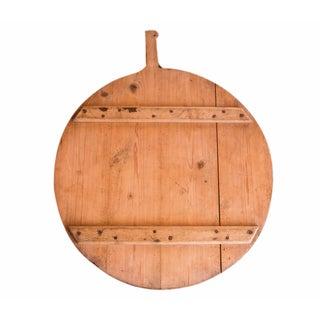 Vintage Wooden Pizza Serving Board