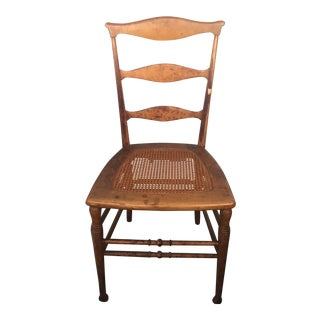 1800s Victorian Wedding Side Table Chair