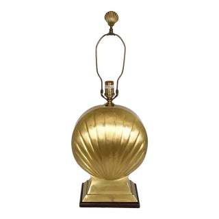 Brass Shell Table Lamp