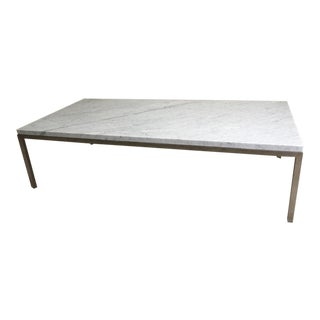 Room & Board Portica Custom Marble Coffee Table