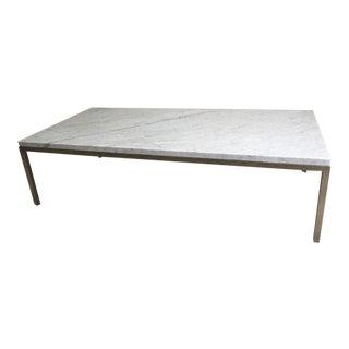Room & Board Portica Custom Marble Coffee Table