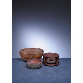 Set of 13 Swedish Folk Art Wooden Pieces