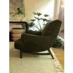 Image of Mid-Century Modern Upholstered Lounge Chair