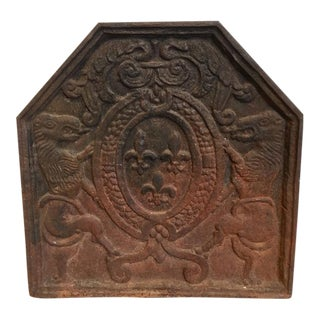 18th Century Antique French Fireback