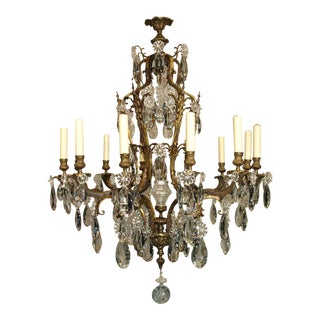 Antique Chandelier in Louis XV Style