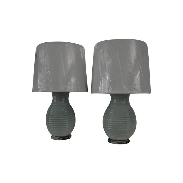 Carlyle Hotel Lamps, Pair - Image 1 of 5