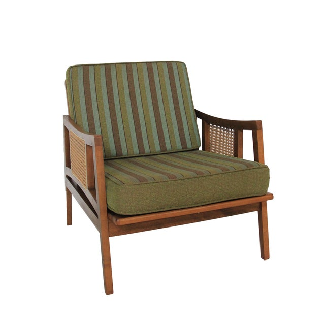 Vintage Mid Century Modern Lounge Chair - Image 1 of 5