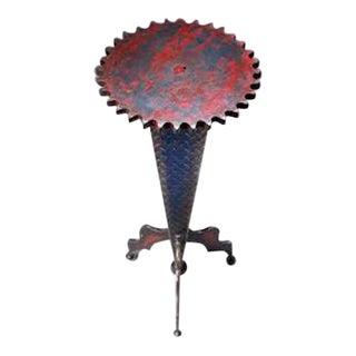 Cindy Wynn Industrial Art Side Table
