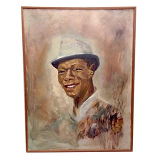 Vintage Original Nat King Cole Portrait