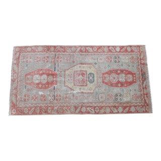Maha Vintage Turkish Kilim Rug - 3′ × 5′10″