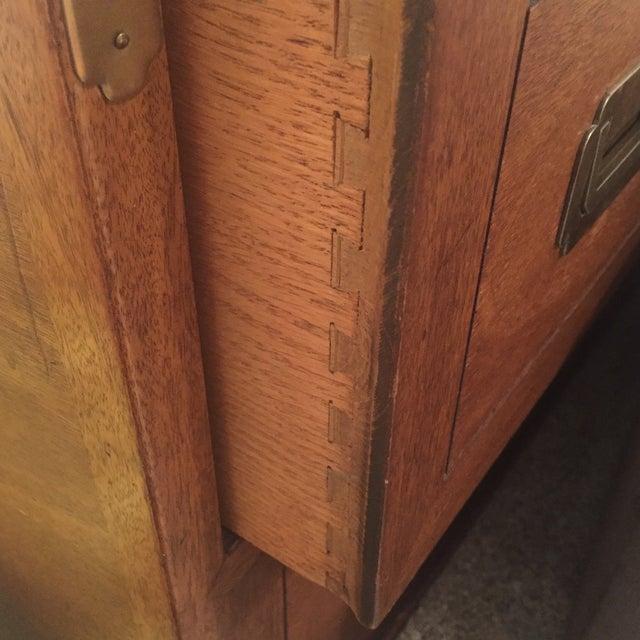 Drexel Wood Campaign Dresser - Image 7 of 7