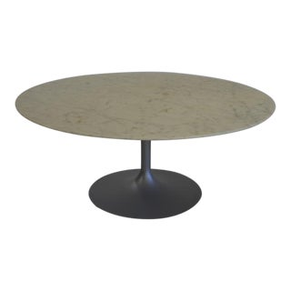 Eero Saarinen for Knoll Round Marble Coffee Table